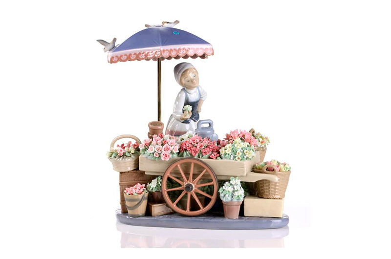 FLOWERS OF THE SEASON LLADRO by CrystalSymphony
