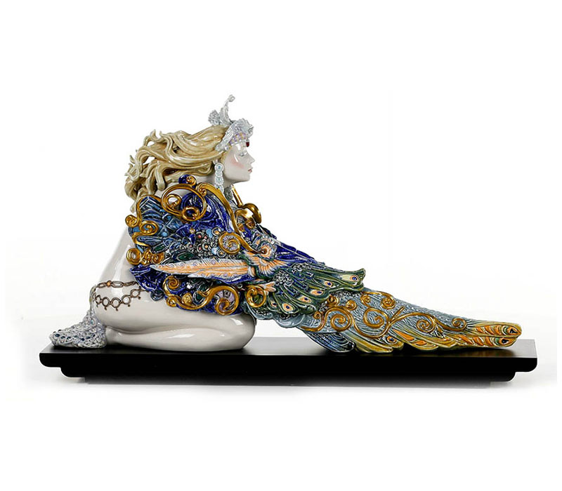 Winged beauty Lladro Thailand by CrystalSymphony