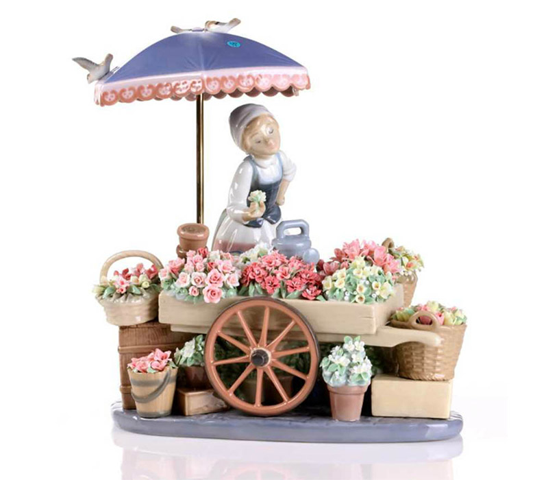 flowers of the season Lladro Thailand by CrystalSymphony