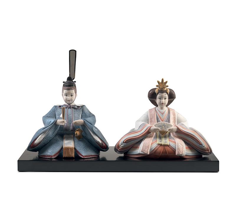 hinamatsuri dolls Lladro Thailand by CrystalSymphony