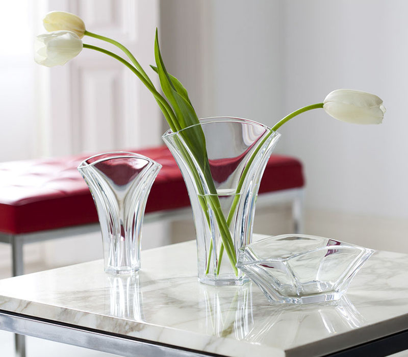 Ginkgo Vase Baccarat Thailand by CrystalSymphony