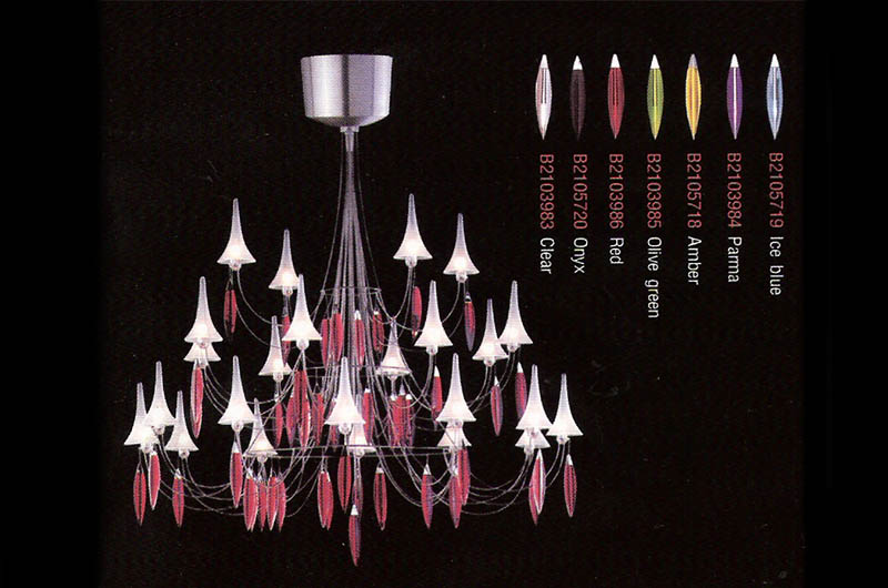Plume Chandelier by Baccarat Thailand