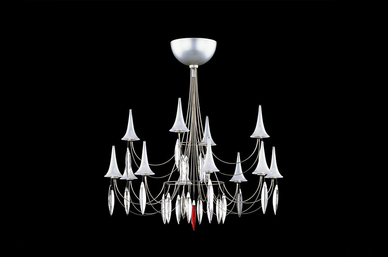 Plume Chandelier2 by Baccarat Thailand
