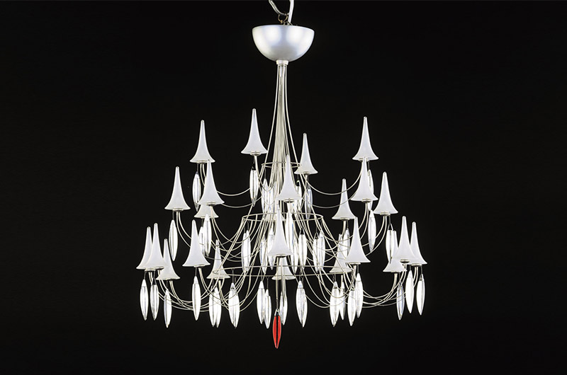 Plume Chandelier3 by Baccarat Thailand