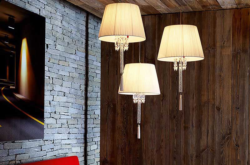 Torch Ceiling Lamp2 by Baccarat Thailand