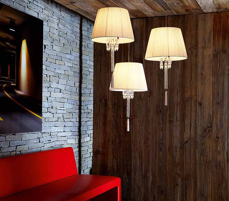 Torch Ceiling Lamp3 by Baccarat Thailand