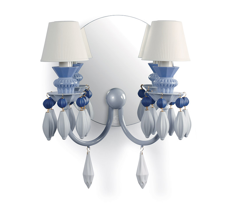 Belle de nuit 2lights wall scone Lladro Thailand by CrystalSymphony