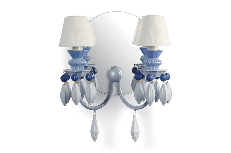 Belle de nuit 2lights wall scone by Lladro Thailand