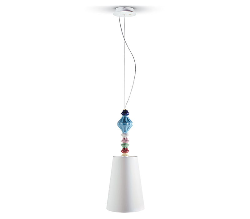 Belle de nuit ceiling lamp Lladro Thailand by CrystalSymphony