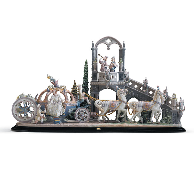 Cinderella Lladro Thailand by CrystalSymphony