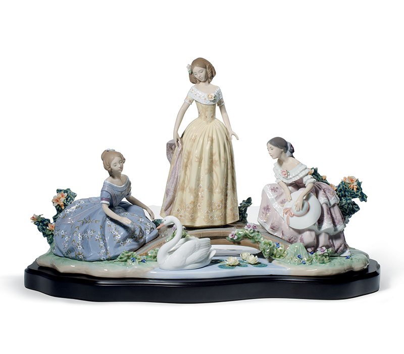 Daydreaming by the Pond Women Lladro Thailand by CrystalSymphony