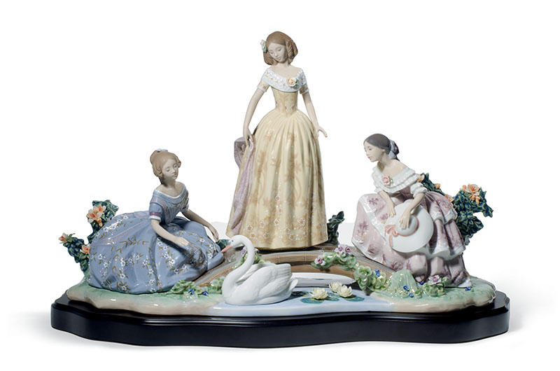 Daydreaming by the Pond Women by Lladro Thailand