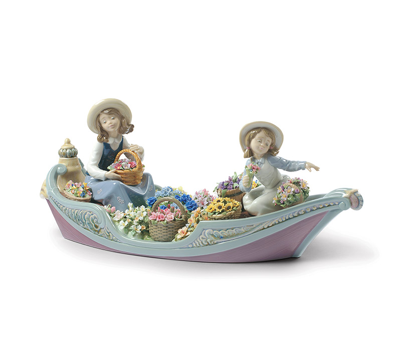 Flower forever girl Lladro Thailand by CrystalSymphony