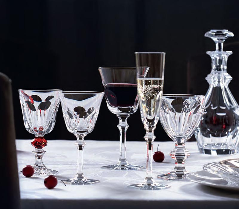 Harcourt 1841 Glass Baccarat Thailand by CrystalSymphony
