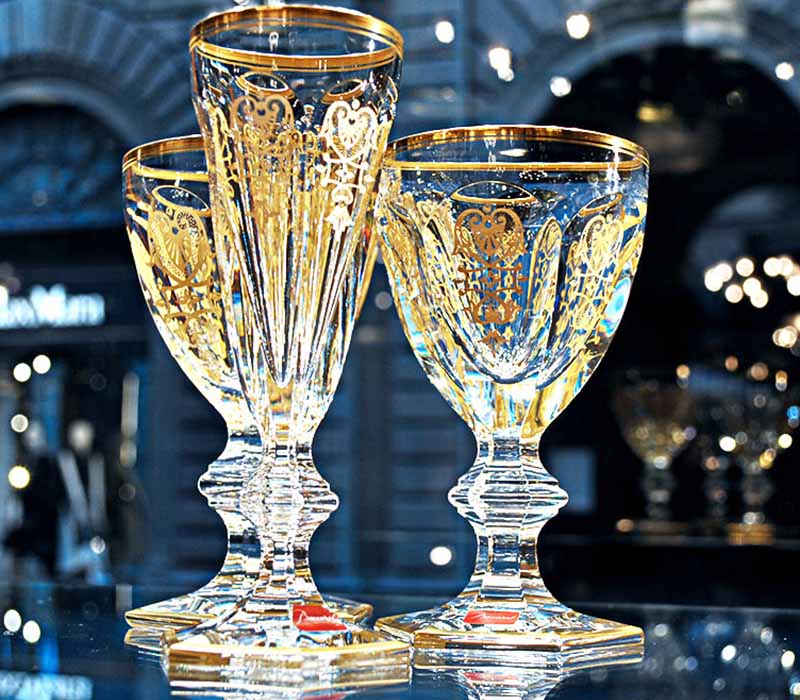 Harcourt Empire Flute Baccarat Thailand by CrystalSymphony