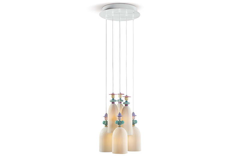 Mademoiselle 6 Lights by Lladro Thailand