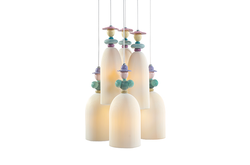 Mademoiselle 6 Lights2 by Lladro Thailand