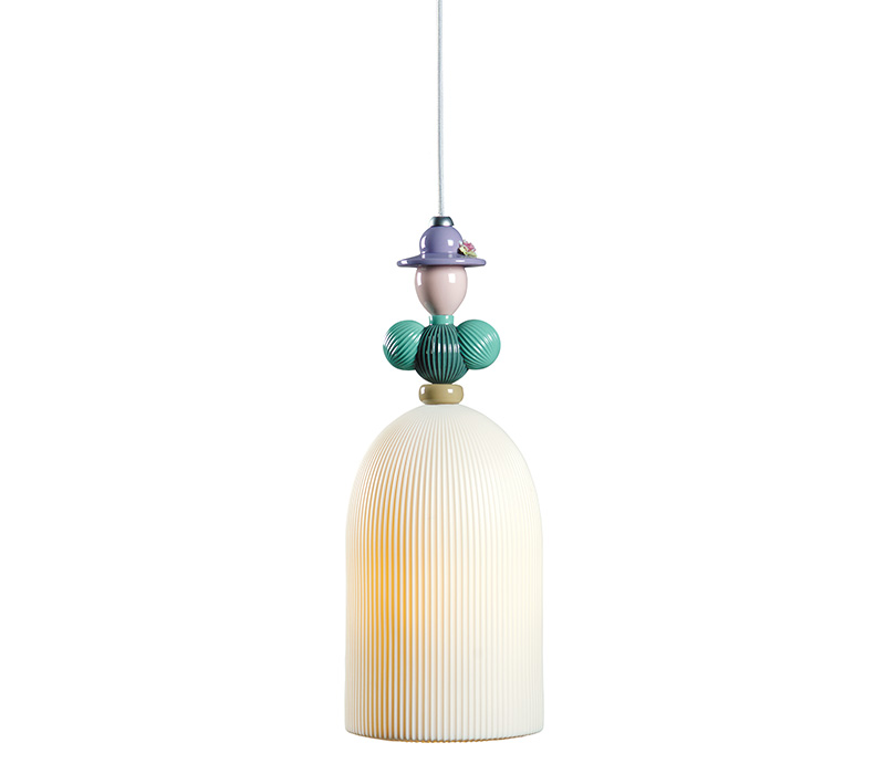 Mademoiselle Béatrice Ceiling Lamp Lladro Thailand by CrystalSymphony