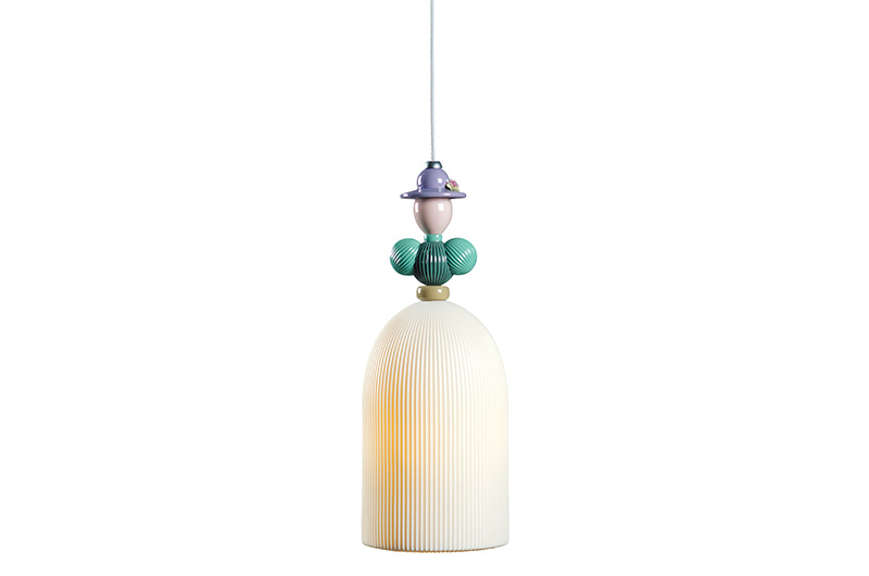 Mademoiselle Beatrice Ceiling Lamp by Lladro Thailand