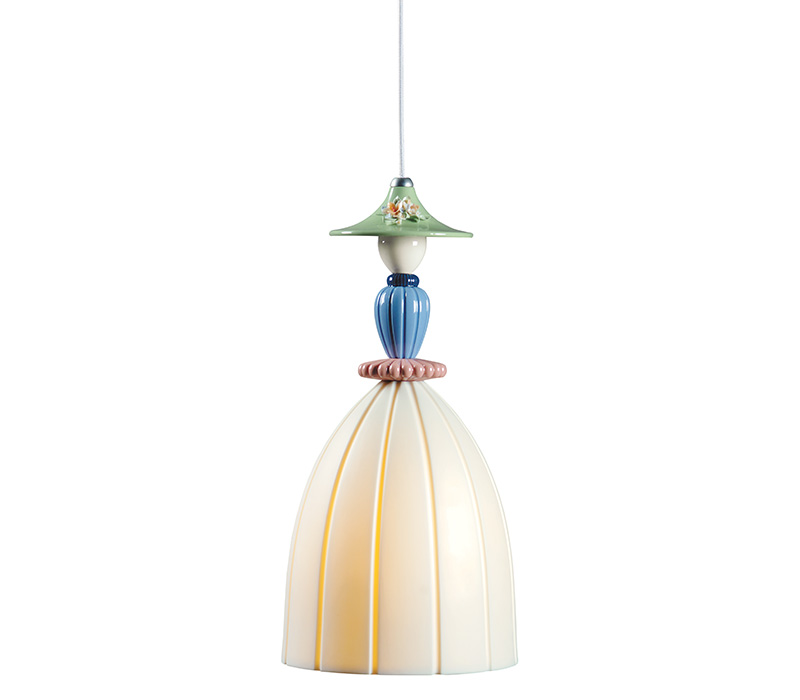 Mademoiselle Daniela Ceiling Lamp Lladro Thailand by CrystalSymphony