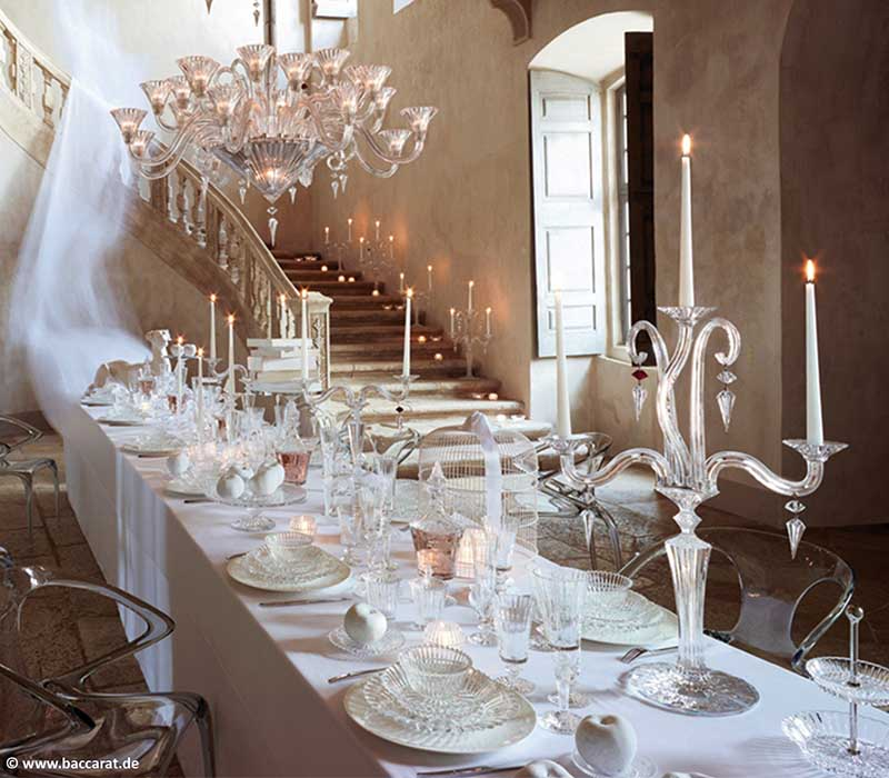 Mille Nuits Candelabra Baccarat Thailand by CrystalSymphony