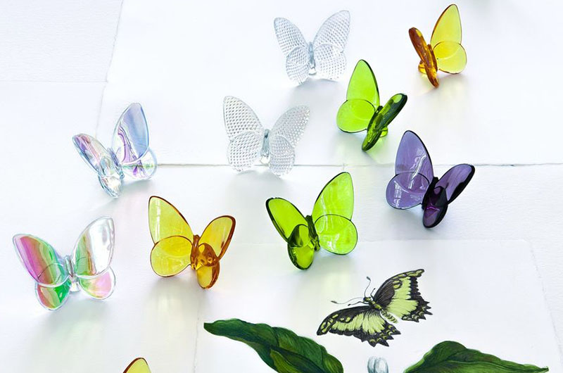 Papillon Lucky Butterfly by Baccarat Thailand