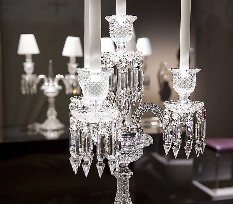 Zenith Candelabra 2 Baccarat Thailand by CrystalSymphony