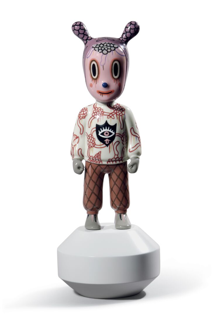 The Guest by Gary Baseman. Small Model