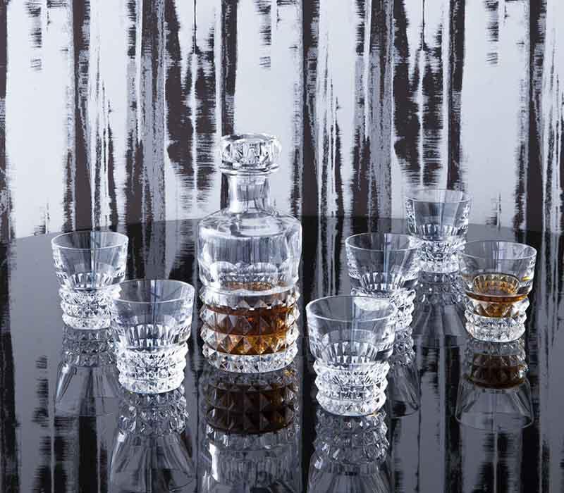Louxor bar set Baccarat Thailand by CrystalSymphony