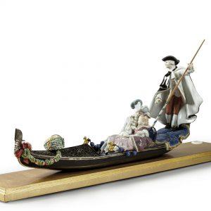 Gondola in Venice Sculpture. Limited Edition