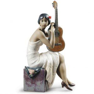 The Flamenco Singer Woman